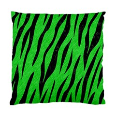 Skin3 Black Marble & Green Colored Pencil (r) Standard Cushion Case (two Sides)