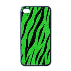 Skin3 Black Marble & Green Colored Pencil (r) Apple Iphone 4 Case (black)