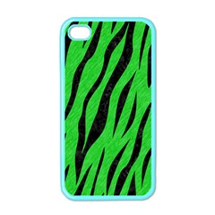 Skin3 Black Marble & Green Colored Pencil (r) Apple Iphone 4 Case (color)