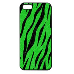 Skin3 Black Marble & Green Colored Pencil (r) Apple Iphone 5 Seamless Case (black)