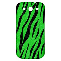 Skin3 Black Marble & Green Colored Pencil (r) Samsung Galaxy S3 S Iii Classic Hardshell Back Case