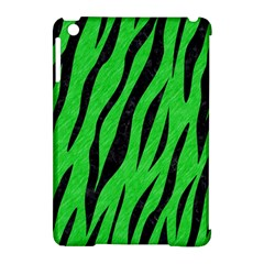 Skin3 Black Marble & Green Colored Pencil (r) Apple Ipad Mini Hardshell Case (compatible With Smart Cover)