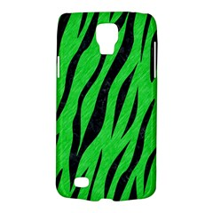 Skin3 Black Marble & Green Colored Pencil (r) Galaxy S4 Active