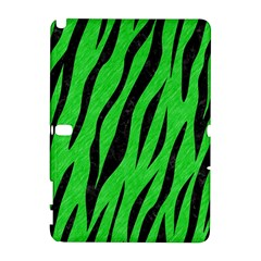 Skin3 Black Marble & Green Colored Pencil (r) Galaxy Note 1