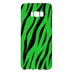 Skin3 Black Marble & Green Colored Pencil (r) Samsung Galaxy S8 Plus Hardshell Case