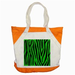 Skin4 Black Marble & Green Colored Pencil Accent Tote Bag
