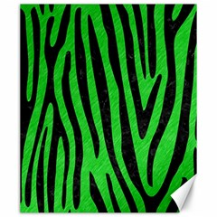 Skin4 Black Marble & Green Colored Pencil Canvas 20  X 24
