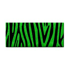 Skin4 Black Marble & Green Colored Pencil Cosmetic Storage Cases