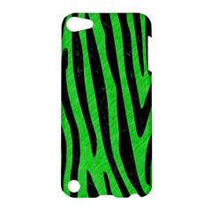 Skin4 Black Marble & Green Colored Pencil Apple Ipod Touch 5 Hardshell Case