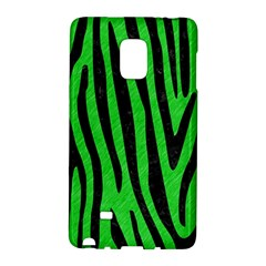 Skin4 Black Marble & Green Colored Pencil Galaxy Note Edge