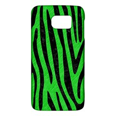 Skin4 Black Marble & Green Colored Pencil Galaxy S6