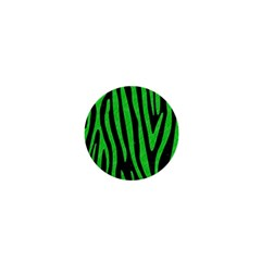 Skin4 Black Marble & Green Colored Pencil (r) 1  Mini Buttons