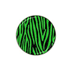 Skin4 Black Marble & Green Colored Pencil (r) Hat Clip Ball Marker (10 Pack)