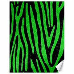 Skin4 Black Marble & Green Colored Pencil (r) Canvas 18  X 24