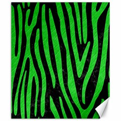 Skin4 Black Marble & Green Colored Pencil (r) Canvas 20  X 24