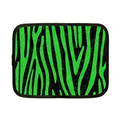 Skin4 Black Marble & Green Colored Pencil (r) Netbook Case (small)