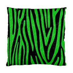 Skin4 Black Marble & Green Colored Pencil (r) Standard Cushion Case (two Sides)