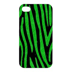Skin4 Black Marble & Green Colored Pencil (r) Apple Iphone 4/4s Hardshell Case