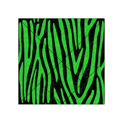 Skin4 Black Marble & Green Colored Pencil (r) Acrylic Tangram Puzzle (4  X 4 )
