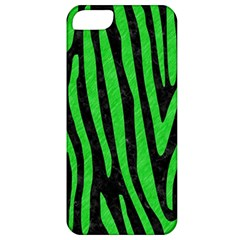 Skin4 Black Marble & Green Colored Pencil (r) Apple Iphone 5 Classic Hardshell Case