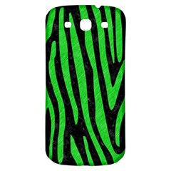 Skin4 Black Marble & Green Colored Pencil (r) Samsung Galaxy S3 S Iii Classic Hardshell Back Case