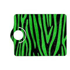Skin4 Black Marble & Green Colored Pencil (r) Kindle Fire Hd (2013) Flip 360 Case