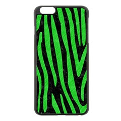 Skin4 Black Marble & Green Colored Pencil (r) Apple Iphone 6 Plus/6s Plus Black Enamel Case