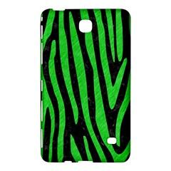 Skin4 Black Marble & Green Colored Pencil (r) Samsung Galaxy Tab 4 (7 ) Hardshell Case