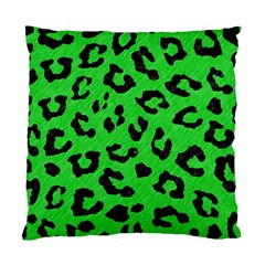 Skin5 Black Marble & Green Colored Pencil Standard Cushion Case (one Side)