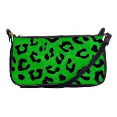 Skin5 Black Marble & Green Colored Pencil Shoulder Clutch Bags
