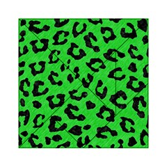 Skin5 Black Marble & Green Colored Pencil Acrylic Tangram Puzzle (6  X 6 )