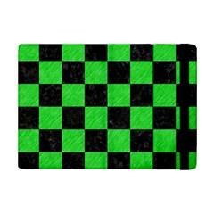 Square1 Black Marble & Green Colored Pencil Ipad Mini 2 Flip Cases