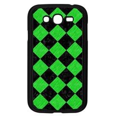 Square2 Black Marble & Green Colored Pencil Samsung Galaxy Grand Duos I9082 Case (black)