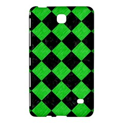 Square2 Black Marble & Green Colored Pencil Samsung Galaxy Tab 4 (7 ) Hardshell Case