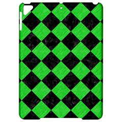Square2 Black Marble & Green Colored Pencil Apple Ipad Pro 9 7   Hardshell Case
