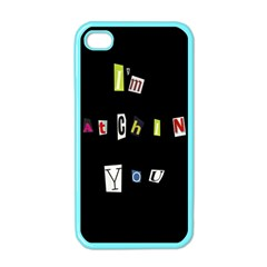 I Am Watching You Apple Iphone 4 Case (color)