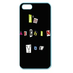 I Am Watching You Apple Seamless Iphone 5 Case (color)