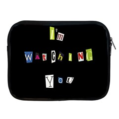 I Am Watching You Apple Ipad 2/3/4 Zipper Cases
