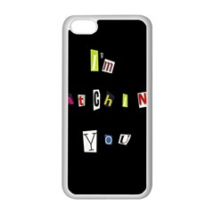 I Am Watching You Apple Iphone 5c Seamless Case (white)