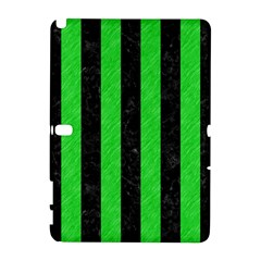 Stripes1 Black Marble & Green Colored Pencil Galaxy Note 1