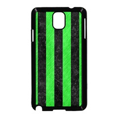 Stripes1 Black Marble & Green Colored Pencil Samsung Galaxy Note 3 Neo Hardshell Case (black)