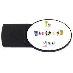 I Am Watching You Usb Flash Drive Oval (2 Gb)