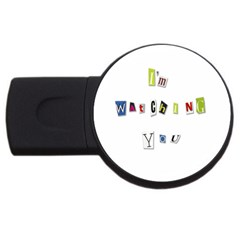 I Am Watching You Usb Flash Drive Round (4 Gb)