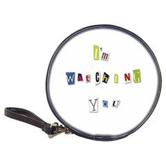 I Am Watching You Classic 20 Cd Wallets