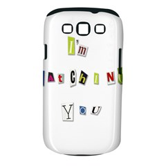 I Am Watching You Samsung Galaxy S Iii Classic Hardshell Case (pc+silicone)