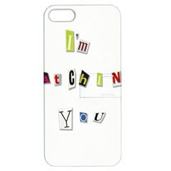 I Am Watching You Apple Iphone 5 Hardshell Case With Stand