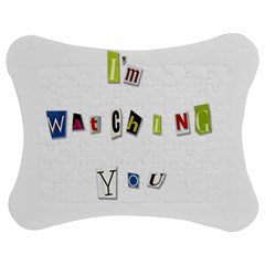 I Am Watching You Jigsaw Puzzle Photo Stand (bow)