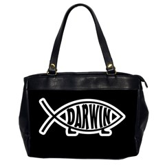 Darwin Fish Office Handbags (2 Sides)