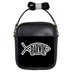 Darwin Fish Girls Sling Bags