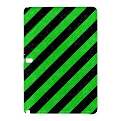 Stripes3 Black Marble & Green Colored Pencil Samsung Galaxy Tab Pro 12 2 Hardshell Case